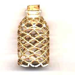 Beaded Bottle