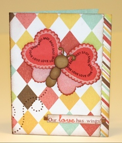 Our Love has Wings Card