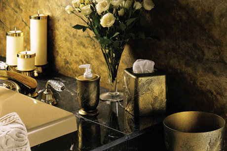Bathtime Elegance Bathroom Decor