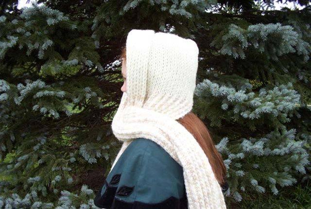 Hooded Scarf Favecrafts Com