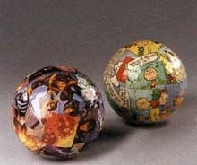 Awesome Comic Wrapped Decorative Balls