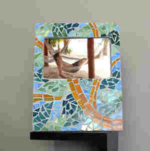 Mosaic Rainforest Frame Favecrafts Com