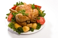 Roast Chicken with Rosemary and Garlic