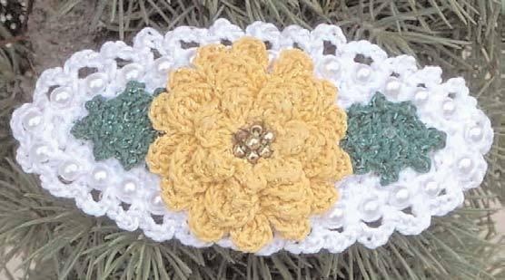 Marigold Pin Crochet Flower Pattern Favecraftscom