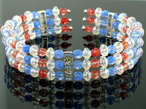 Patriotic Collar Necklace