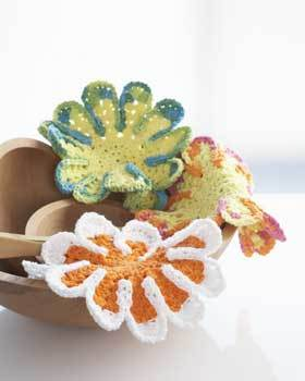 Flower Dish Cloths