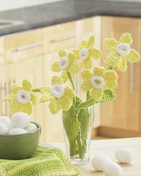 Daffodils Bouquet Crochet Pattern