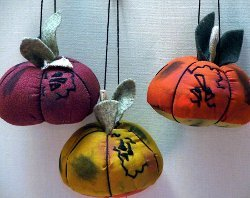 Colorful Pumpkin Ornament