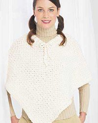 Simple Crochet Poncho