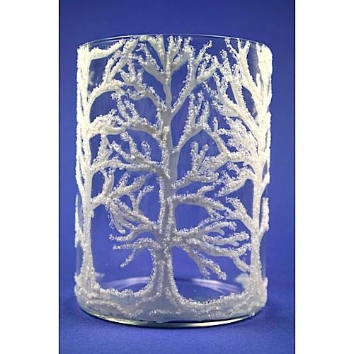 Glittery Tree Vase FaveCrafts