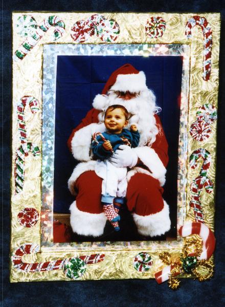 Christmas Decoupage Picture Frame Favecrafts Com
