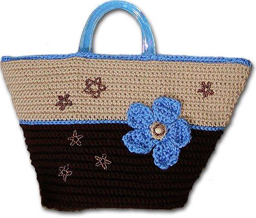 Knitting Yarn Bag Pattern : Bobble Felt Bag Knitting Pattern from Caron Yarn ...