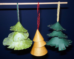 Tiered Christmas Tree Ornament