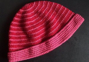 Easy Stripe Hat