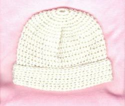 Barb's Seamless Crocheted Baby Hat