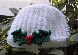 Snowy Ridges Crochet Hat