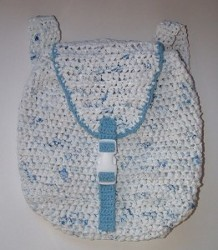 Plarn Crochet Backpack