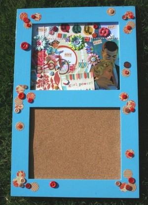 Collage Corkboard
