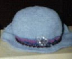 My Crocheted Brimmed Hat