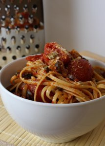 Easy Loaded Spaghetti