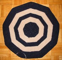 Crochet Kitchen Mat
