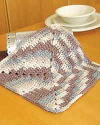 An Easy Ombre Dishcloth AllFreeCrochet.com