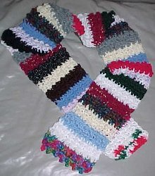 Crochet Crazy Scarf
