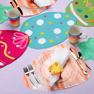 Easter Table Set | FaveCrafts.com
