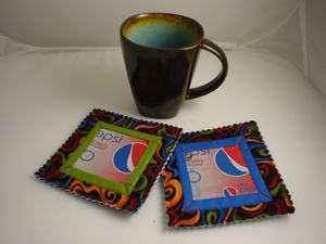 Soda Can Coasters