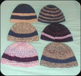 Crocheted Beanie Hat