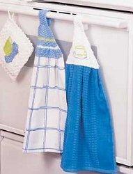 Towel Hangers AllFreeKnitting.com
