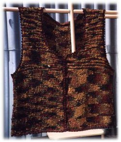 Knit Button Vest