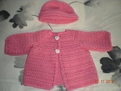 Crochet Baby Sweater Coat