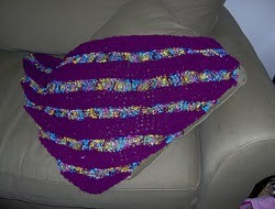 Drop Knit Shawl