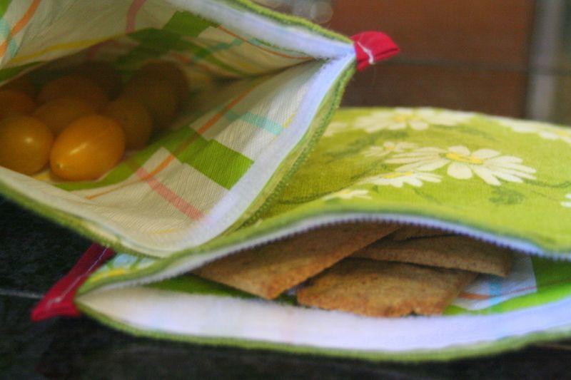 Reusable Cloth Snack Bags Favecrafts Com