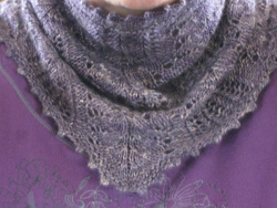 Forst Flowers Lace Cowl