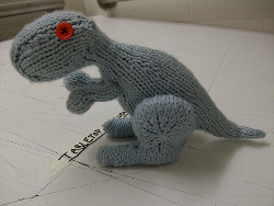 Knit Dino the Dinosaur