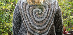 Swirl Sweater Wrap