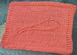 Free Knitting Pattern Turkey Dishcloth : Who Would Like a Turkey Leg Dishcloth? AllFreeKnitting.com