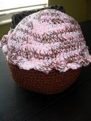 Giant Cupcake Pillow
