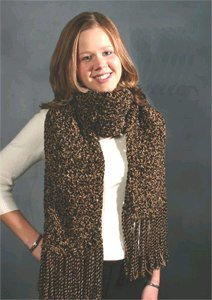Thick Textured Scarf