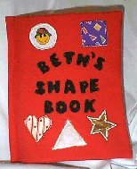 Sew a Child's Fabric Shapes Book