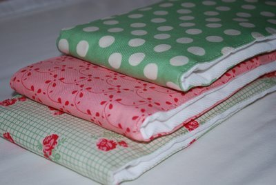 Baby Burp Cloth And Bib Sets Allfreesewing Com