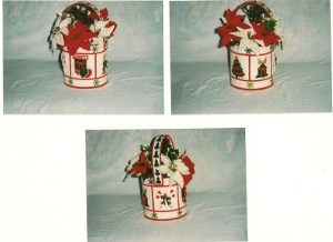 Christmas Magic Flower Basket
