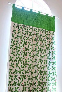 Gathered Top Panel Curtains