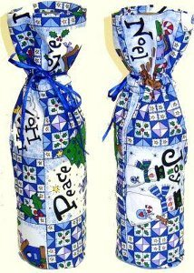 Sew a Bottle Gift Wrap Bag