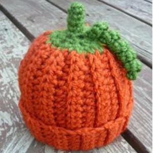 Baby Pumpkin Crochet Beanie Pattern  7c0282c4c15