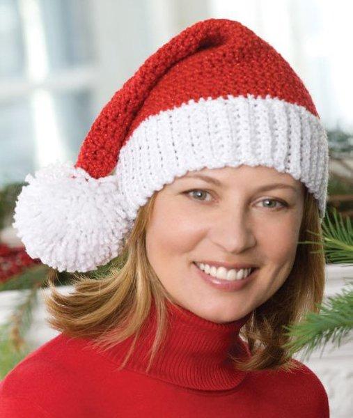 fe90a677840 Crochet Santa Hat
