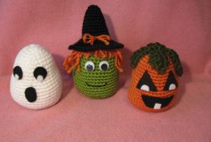 Easy Halloween Crochet Trio