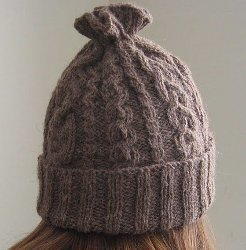 14-Cable Hat Knitting Pattern